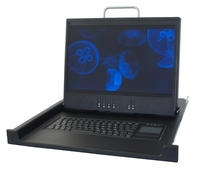 KVT1920E-SC: Denmark, Finland, Norway, DVI, VGA, S-Video, Comp, PS/2, without KVM Switch, 17""