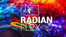 100% Software-based Video Wall Processing: Radian Flex™